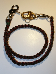 Completed Braided Leash