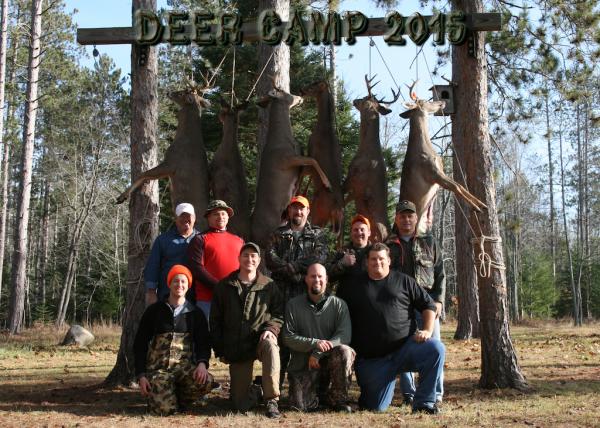 Deer Camp 2015 Banner
