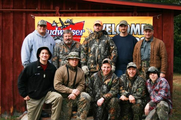 Deer Camp Hunting Crew 2007