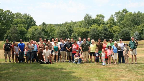 Michigan Hawking Club Group Photo for 2014