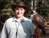 Falconer and Tahoe at Deer Camp 01